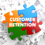 puzzle pieces adding up to customer retention